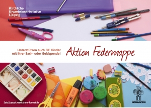 Flyer Aktion Federmappe
